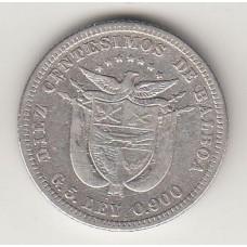 10 сентесимо, Панама, 1904