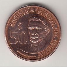 50 песо, Уругвай, 2011