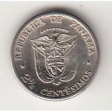 2,5 сентесимо, Панама, 1973