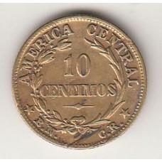 10 сентимо, Коста-Рика, 1942