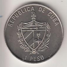 1 песо, Куба, 2001