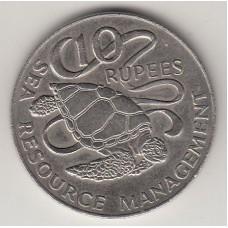 10 рупий, Сейшелы, 1977