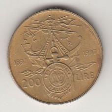 200 лир, Италия, 1997