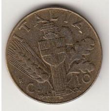 10 чентезимо, Италия, 1942