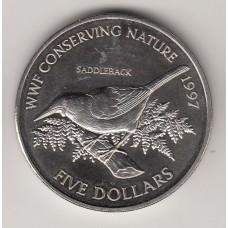 5 долларов, Новая Зеландия, 1997