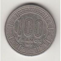 100 франков КФА, Центральноафриканская империя, 1978