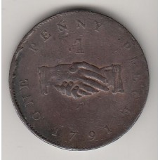 1 пенни, Сьерра-Леоне, 1791
