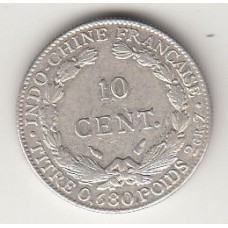 10 центов, Французский Индокитай, 1937
