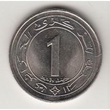 1 динар, Алжир, 1987