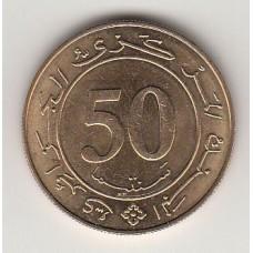 50 сантимов, Алжир, 1988