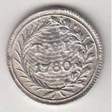 6 тари, Мальтийский орден, 1780