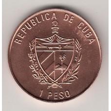 1 песо, Куба, 1988