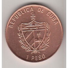 1 песо, Куба, 1989