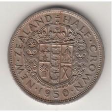1/2 кроны, Новая Зеландия, 1950