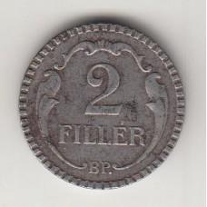 2 филлера, Венгрия, 1940