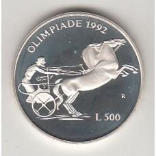 500 лир, Сан-Марино, 1992