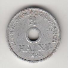 2 су, Вьетнам (ДРВ), 1958