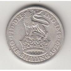 1 шиллинг, Великобритания, 1929