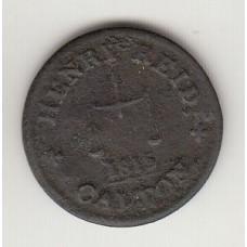токен Генри Райда, Шотландия, 1815