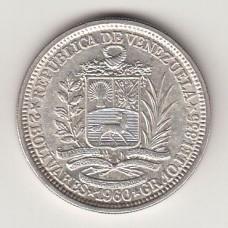 2 боливара, Венесуэла, 1960