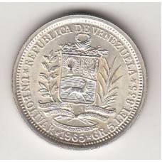 1 боливар, Венесуэла, 1965