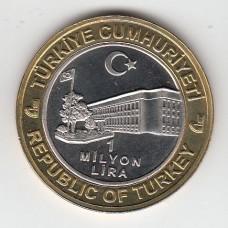 1000000 лир, Турция, 2003
