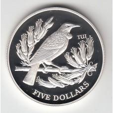 5 долларов, Новая Зеландия, 1995