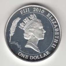 1 доллар, Фиджи, 2010