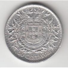 50 сентаво, Португалия, 1912