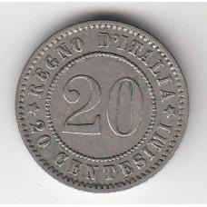 20 чентезимо, Италия, 1894