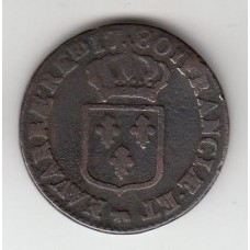 1 соль, Франция, 1780