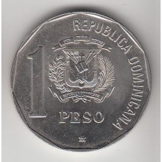 1 песо, Доминиканская республика, 1991