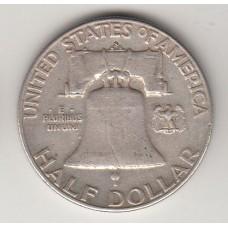 1/2 доллара (S), США, 1952, numismatico.ru