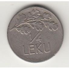 монета 1/4 лека, Албания, 1927год , стоимость , цена