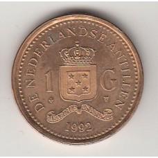 1 гульден, Нидерландские Антильские острова, 1992, numismatico.ru