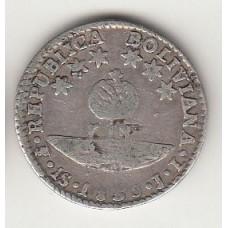1 соль, Боливия. 1830, numismatico.ru
