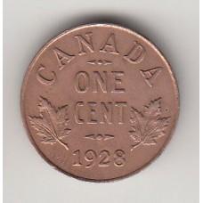 1 цент, Канада, 1928, numismatico.ru
