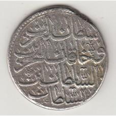 монета 1 золота, Османская империя, 1703год , стоимость , цена