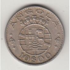 10 эскудо, Ангола, 1970numismatico.ru