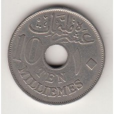 монета 10 мильемов, Египет, 1917год , стоимость , цена
