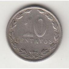 монета 10 сентаво, Аргентина, 1933год, стоимость , цена