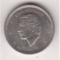 монета 10 сентаво, Доминиканская Республика, 1983год, стоимость , цена