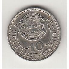 10 сентаво, Сан-Томе и Принсипи, 1929numismatico.ru