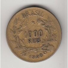 монета 1000 рейсов, Бразилия, 1928год, стоимость , цена