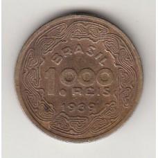 1000 рейсов, Бразилия, 1939, numismatico.ru