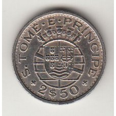 2,5 эскудо, Сан-Томе и Принсипи, 1971numismatico.ru
