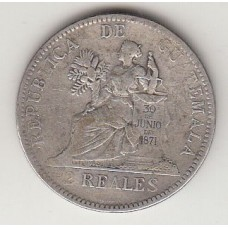 2 реала, Гватемала, 1894numismatico.ru