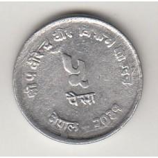 монета 5 пайс, Непал, 1974год , стоимость , цена