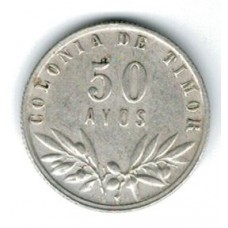 монета 50 аво, Тимор, 1951год, стоимость , цена