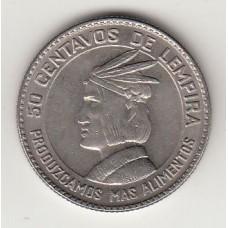 50 сентаво, Гондурас, 1973numismatico.ru